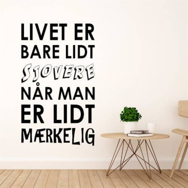 Wallstickers - nemt alternativ til vægmalerier